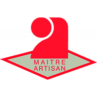 logo maitre artisan vectoriel jfb batiment